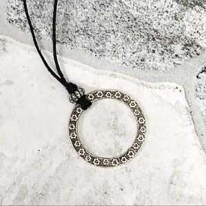 Jewelry - BOGO💫Silver Plated Open Circles Choker